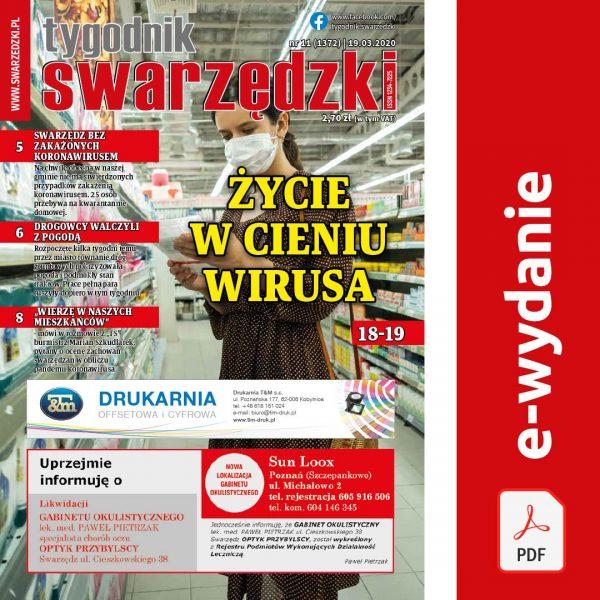 Tygodnik Swarzędzki nr 11 (1372), 2020